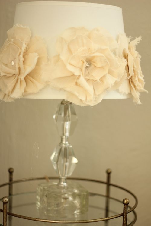 Pretty flower lampshade tutorial pretty petals img5685 aloadofball Gallery